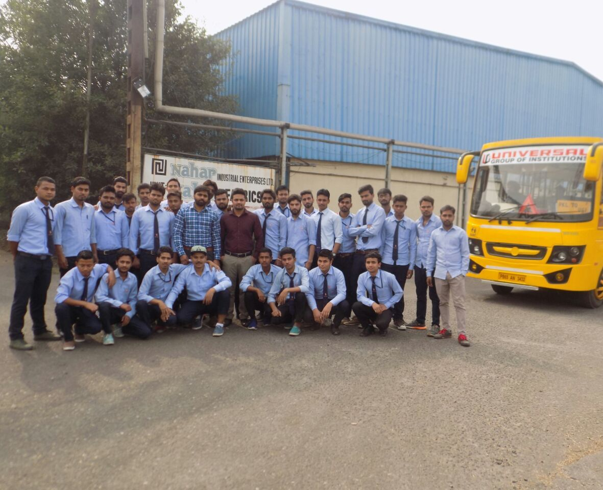 Industrial Visit Universal Group Of Institutions