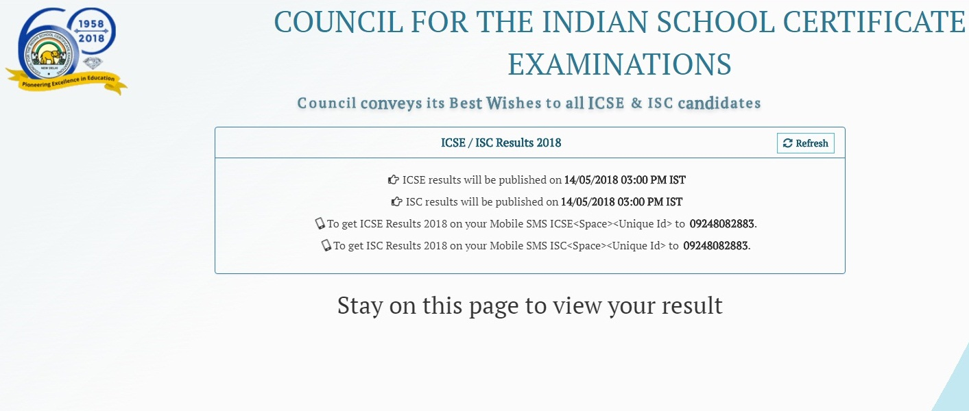 CISECE board Exam results 2018