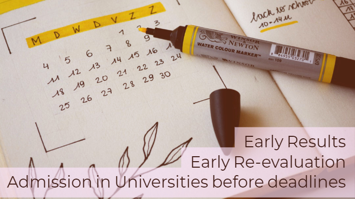Benefits of early examination