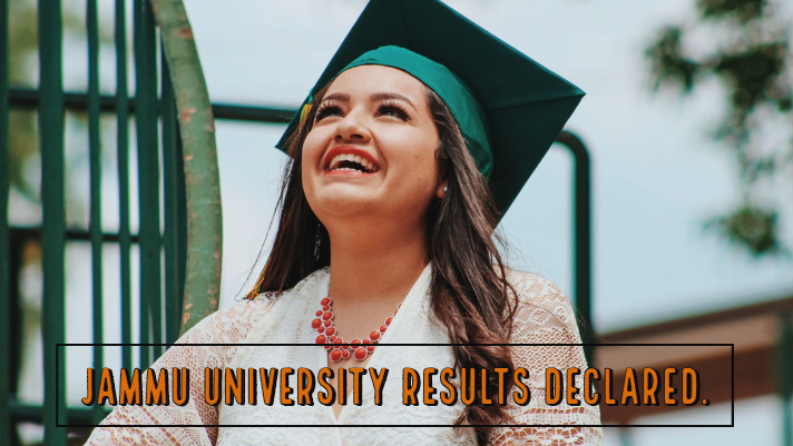 Jammu University Results Declared.